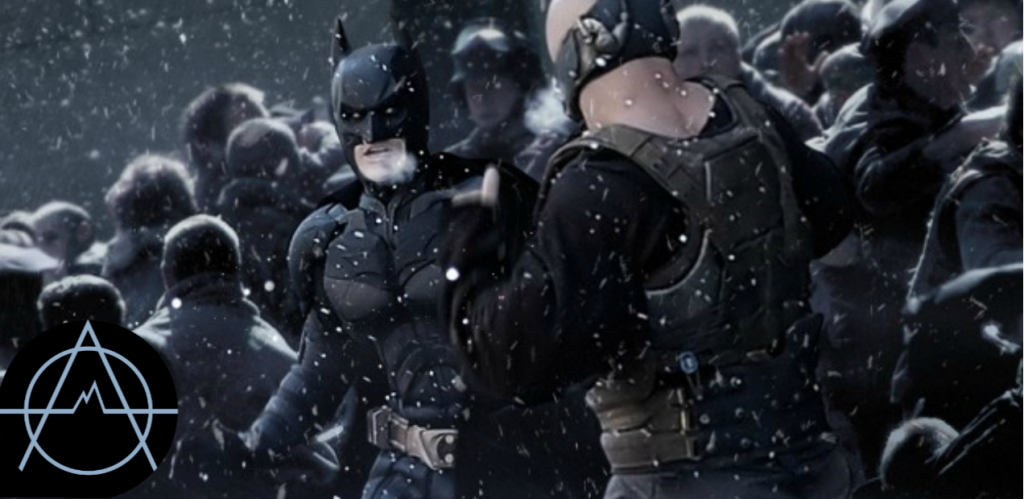 Batman battles Bane for the future of Gotham City in 'The Dark Knight Rises'