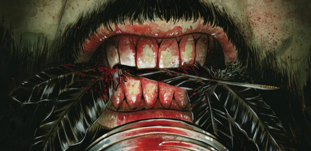A Terrible Horror Threatens A Peaceful Life In 'THE DARK AND BLOODY' -- HEY, KIDS! COMICS!