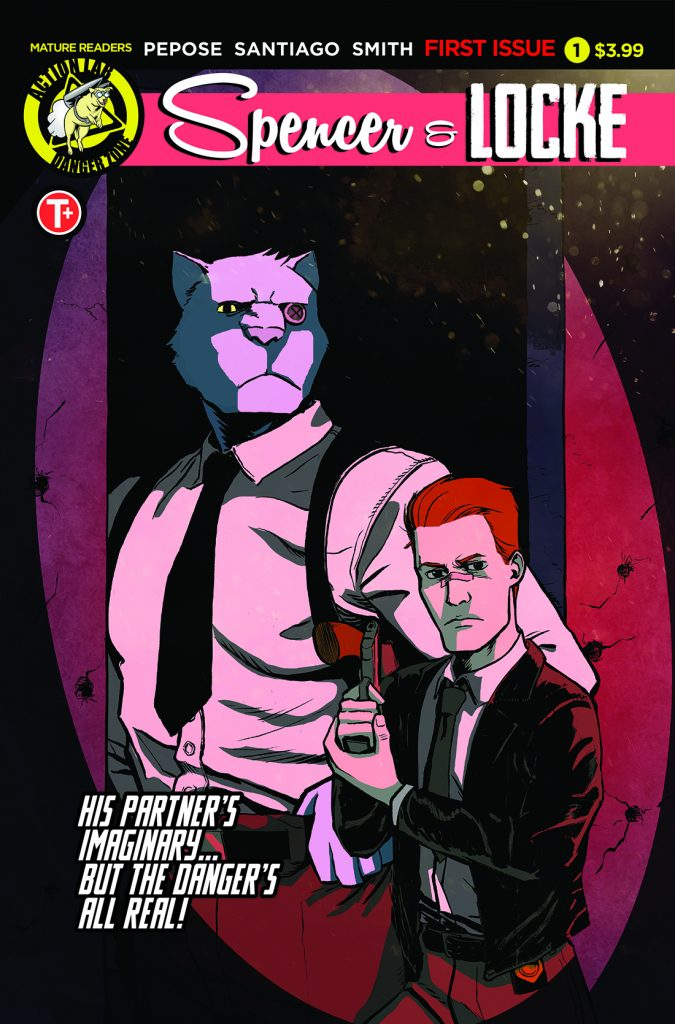 'Spencer & Locke' #1 is out this week from Action Lab.