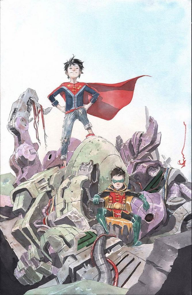 Our Week In Review evaluates 'Super Sons' #2