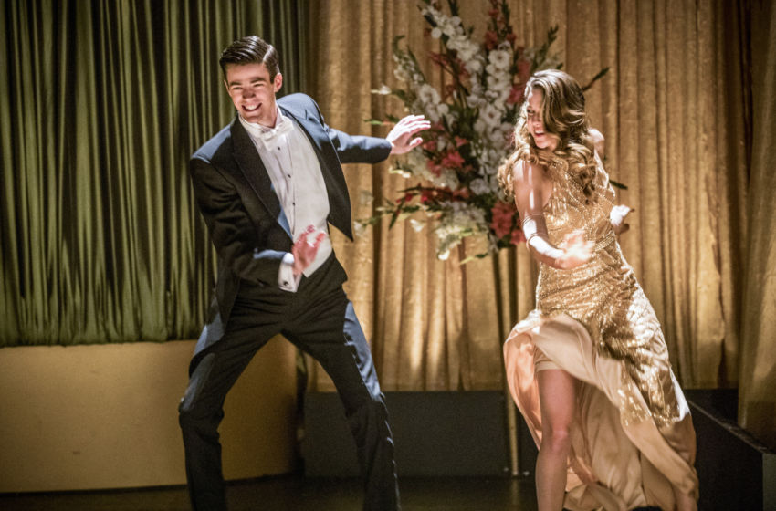 Grant Gustin and Melissa Benoist dance their way through a musical episode of 'The Flash