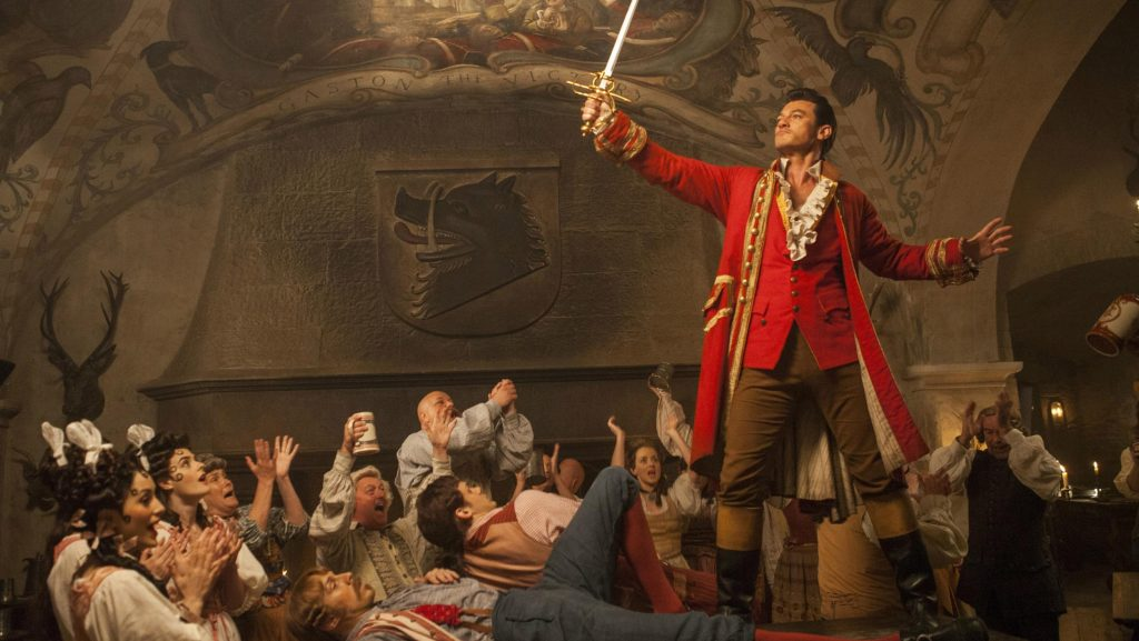 Luke Evans is Gaston in Disney's remake of 'Beauty and the Beast'