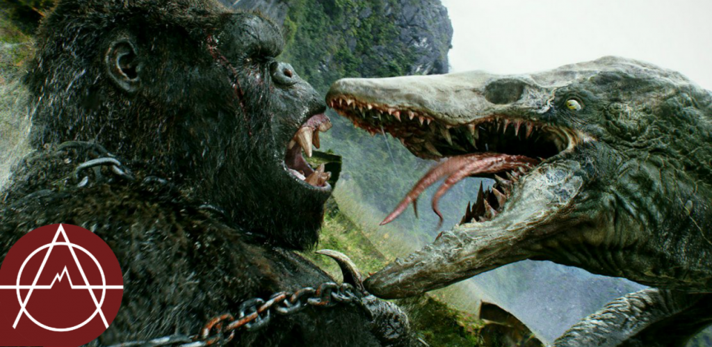 It's beast versus beast in 'Kong: Skull Island', from Warner Bros Pictures