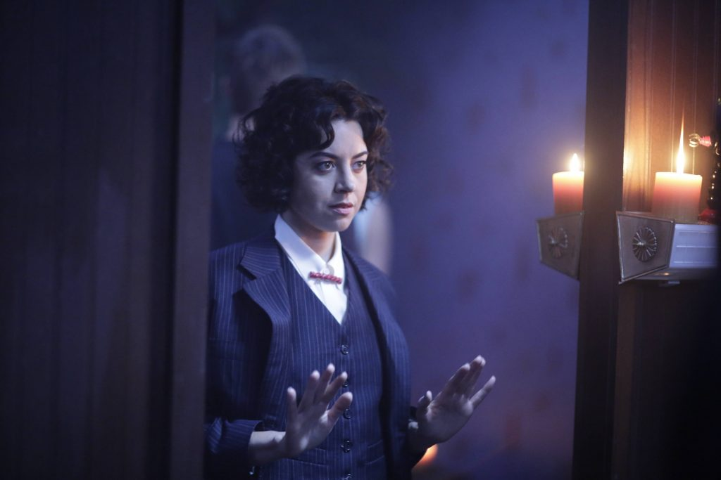 """Aubrey Plaza as Lenny """"Cornflakes"""" Busker in FX's 'Legion'"""