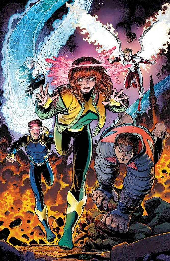 Marvel Comics' 'X-Men: Blue' #1 gets reviewed on this week's episode of Casual Wednesdays