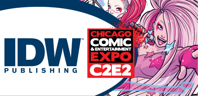 IDW is coming to C2E2 for the very first time, and that rules