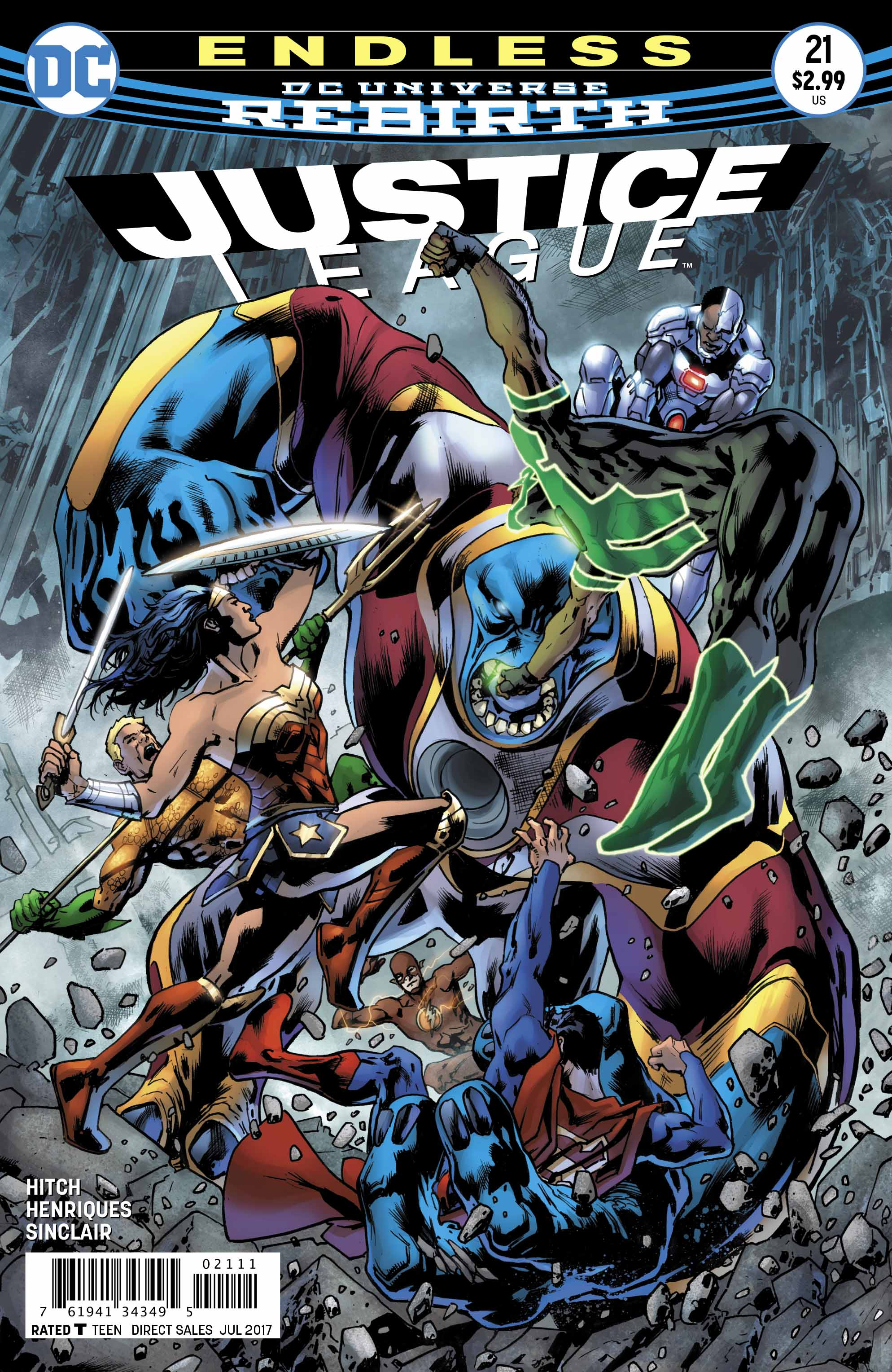 'Justice League' #21 hits stores next week