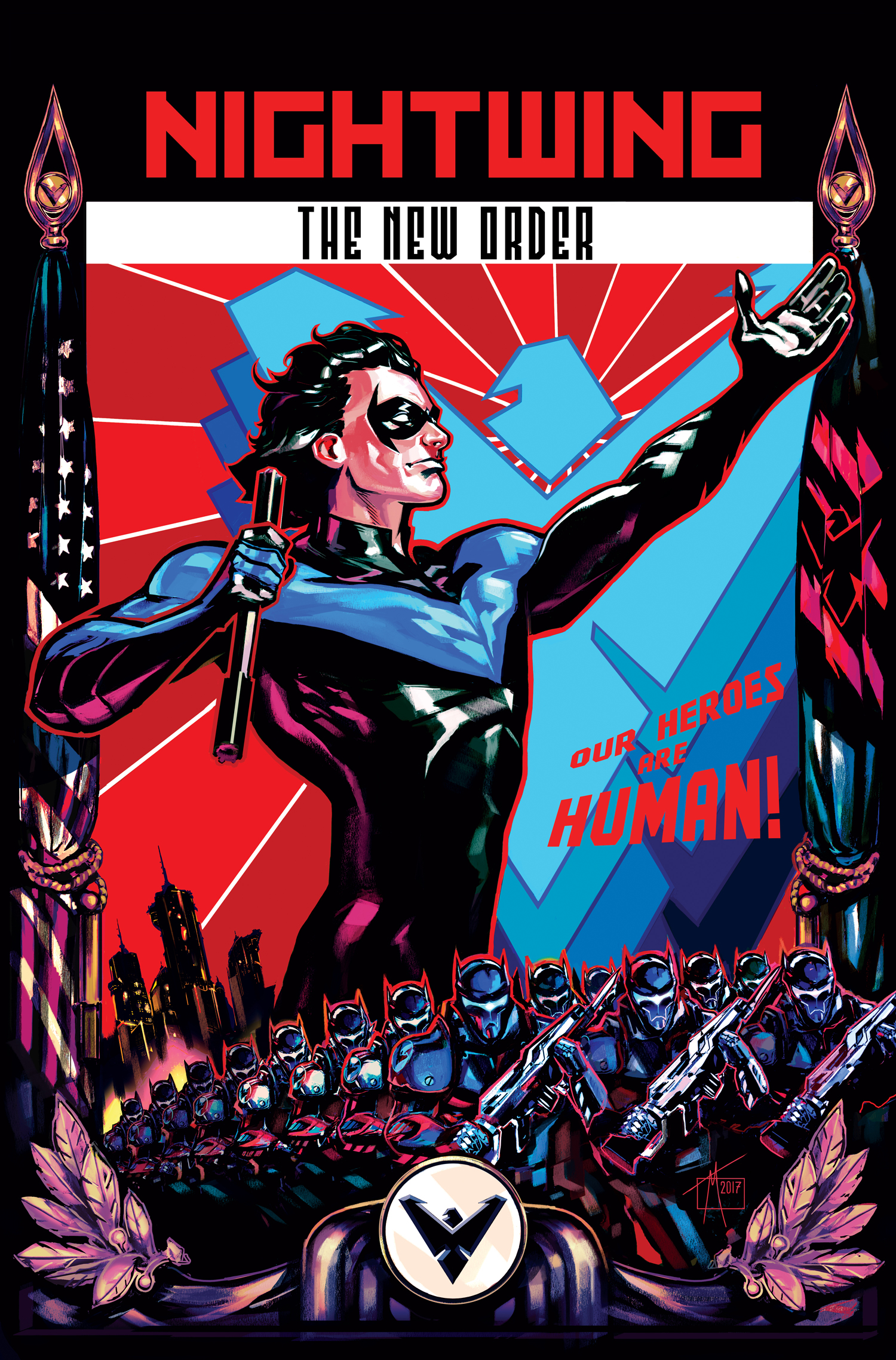 'The New Order' coming soon from DC Comics