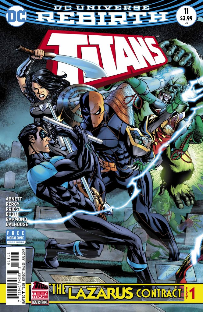 'Titans' #11 is reviewed in this week's episode of Casual Wednesdays