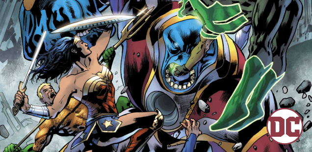 Exclusive Preview: Barry does the time warp again in 'Justice League' #21