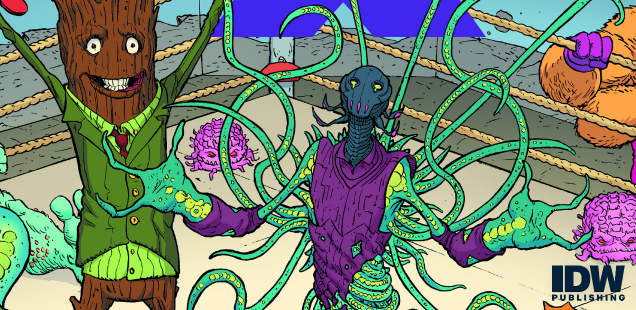 Exclusive Preview: Pitarra's cover to 'TMNT: Dimension X' #3 is pure, undiluted eye candy