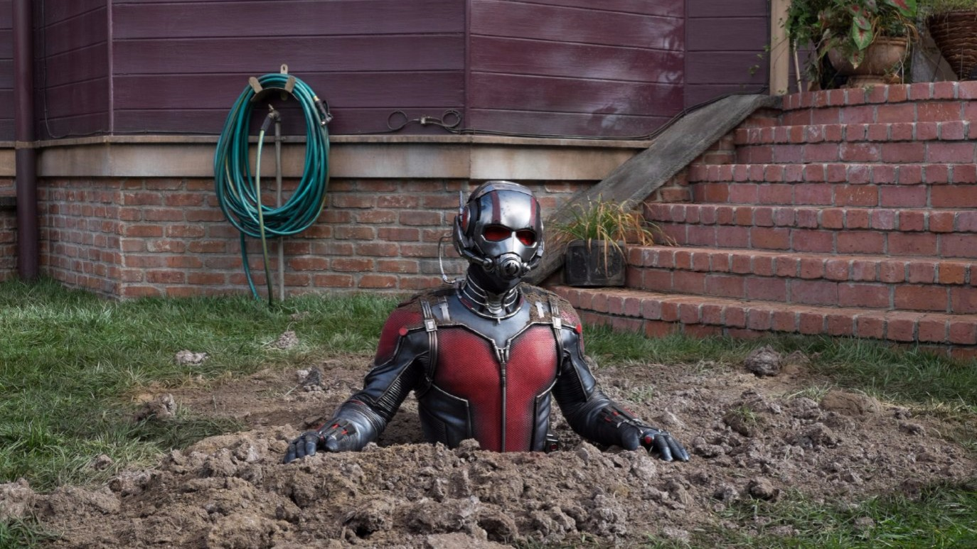 MARVEL'S 'ANT-MAN' IS MUSHY AND SAFE, LIKE CINEMATIC TOFU