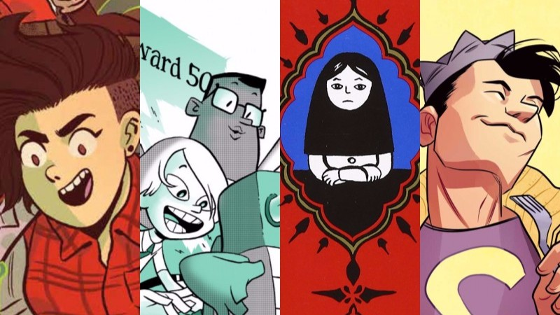 BOOKS FOR BABES: 'JUGHEAD', 'PERSEPOLIS', AND 'LUMBERJANES' ARE AMONG THIS WEEK'S PICKS