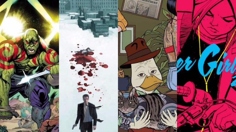 HEY, KIDS! COMICS! 'PAPER GIRLS' ASTOUNDS WHILE CM PUNK MAKES HIS MARVEL IN OUR WEEK IN REVIEW