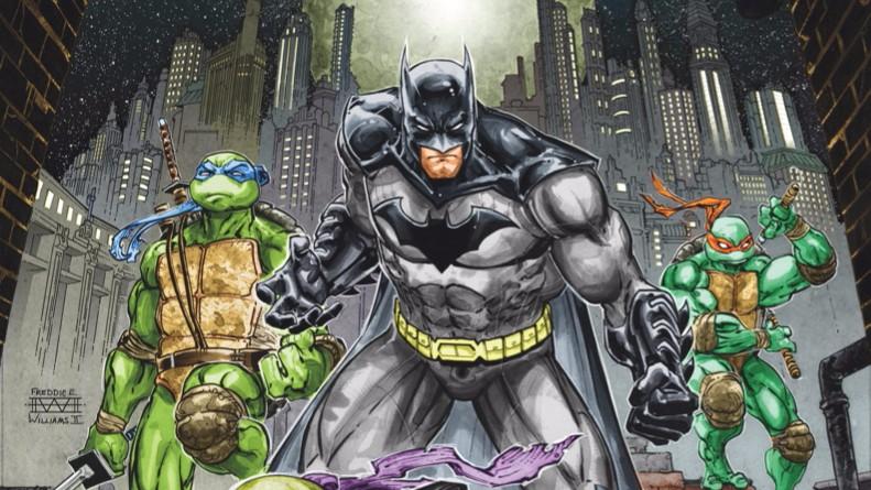 HEY, KIDS! COMICS! 'BATMAN/TEENAGE MUTANT NINJA TURTLES' #1 IS AS FUN AS COMICS GET