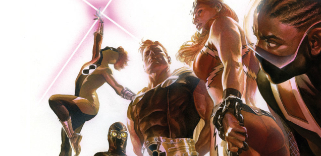 HEY, KIDS! COMICS! The Debut Of 'SQUADRON SUPREME' Is A Shocking Declaration Of Intent