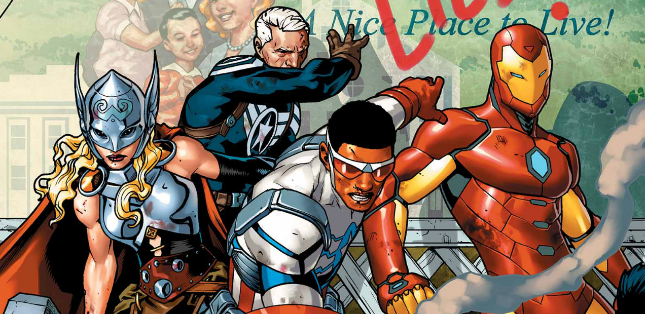 There's A Stirring Morality Play Hidden Inside 'AVENGERS STANDOFF' #1 — HEY, KIDS! COMICS!