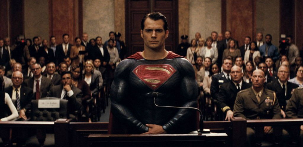 A still from 'Batman v. Superman: Dawn of Justice'