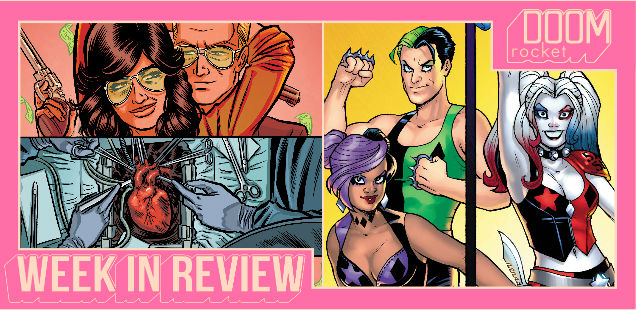 WEEK IN REVIEW: 'HEARTTHROB' #1, 'HARLEY AND HER GANG OF HARLEYS' #1 — HEY, KIDS! COMICS!