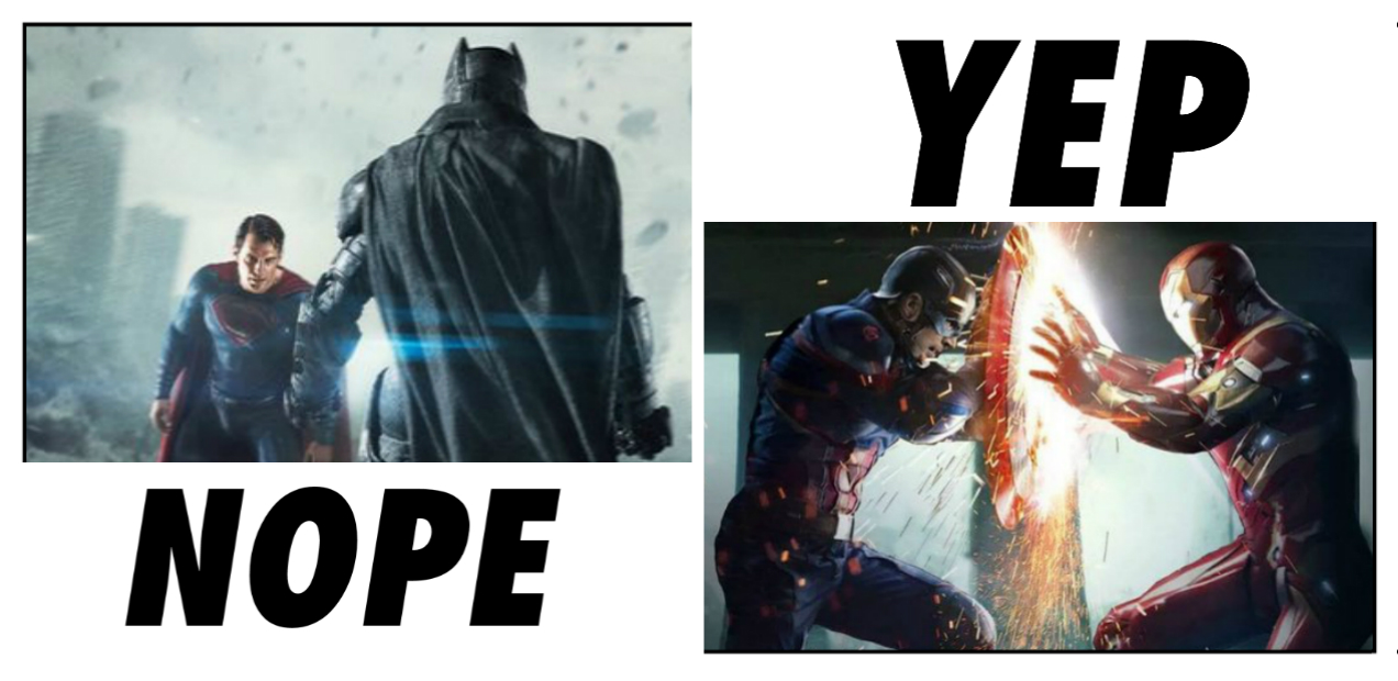 6 Reasons Why 'CIVIL WAR' Is Superior To 'DAWN OF JUSTICE' (Though We Only Need One)