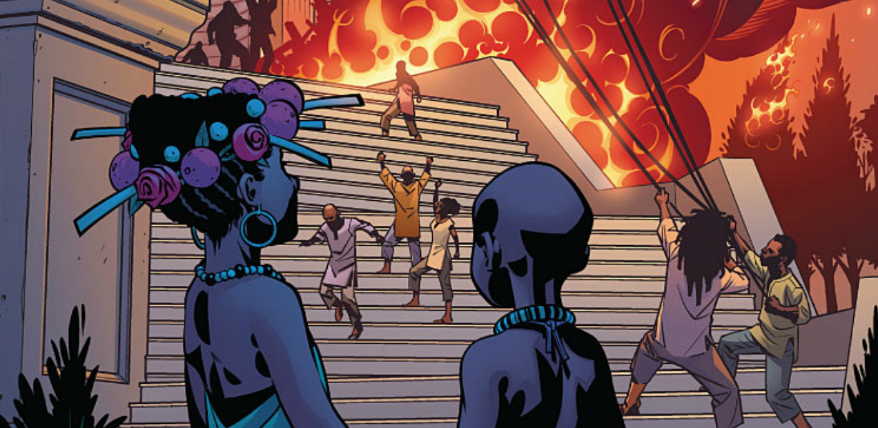 'BLACK PANTHER' #2 Opens Dialogues Without Bolstering Opinions — HEY, KIDS! COMICS!