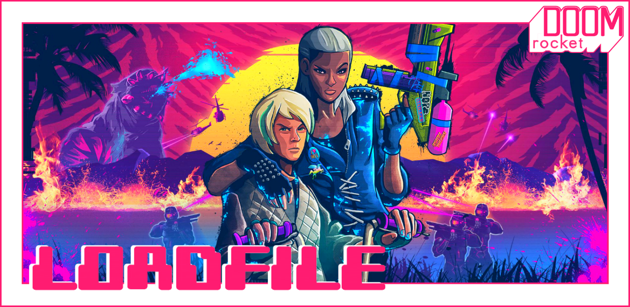 Embrace The Neon-Soaked Havoc Of 'TRIALS OF THE BLOOD DRAGON' (Or, Y'know, Don't) — LOAD FILE