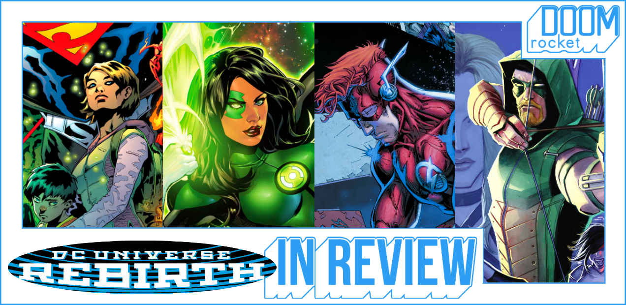 REBIRTH IN REVIEW: Optimism Is Coming, But The New 52 Is Still Too Near — HEY, KIDS! COMICS!