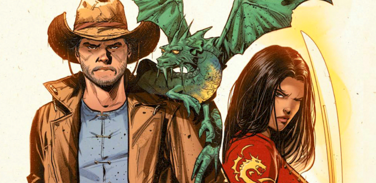 Dragons Soar Over The Untamed West In 'KINGSWAY WEST' #1 — HEY, KIDS! COMICS!