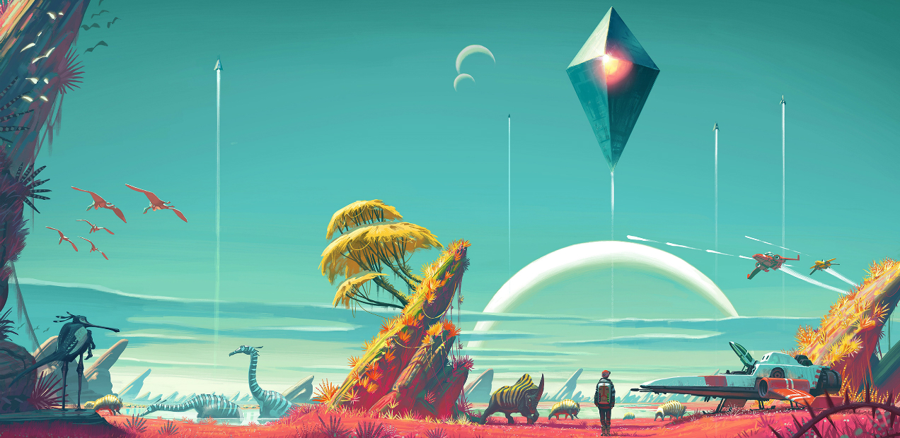 It Hasn't Been 24 Hours, But We Can Already Say It: 'NO MAN'S SKY' Is Perfect