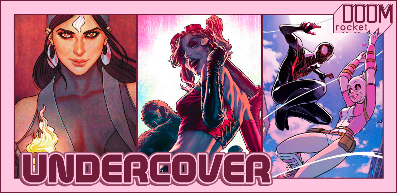 UNDERCOVER: Jenny Frison Should Be In Charge Of All The Covers — HEY, KIDS! COMICS!