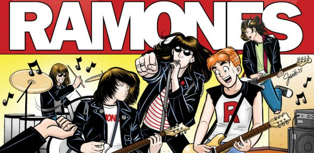 """They're My Dad's Favorite"": Here Comes 'ARCHIE MEETS RAMONES' -- HEY, KIDS! COMICS!"