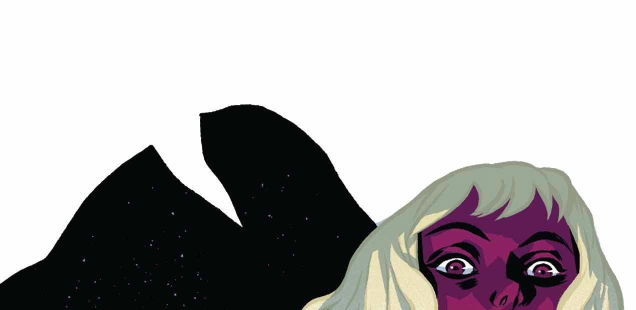 Where Jim Henson's Creature Shop meets 'The Virgin Suicides', that's where 'Shade' #4 lies