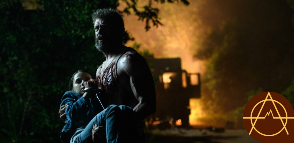 Hugh Jackman and Dafne Keen star in 'Logan'