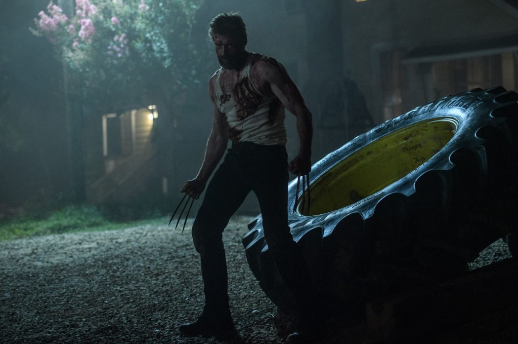 Hugh Jackman takes his final bow as the Wolverine in 'Logan'