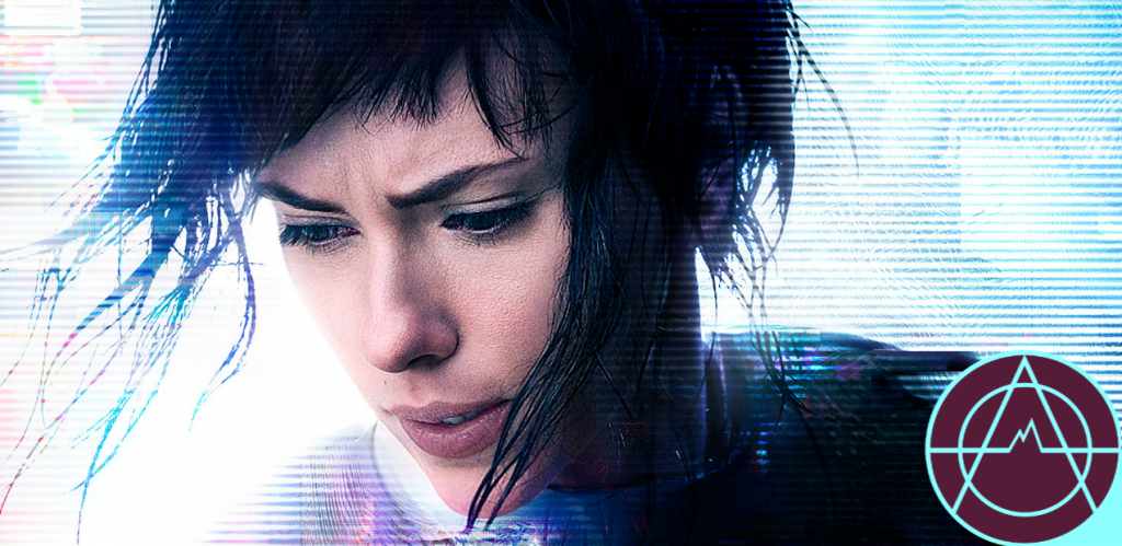 The live-action redo of 'Ghost in the Shell' is in theaters now