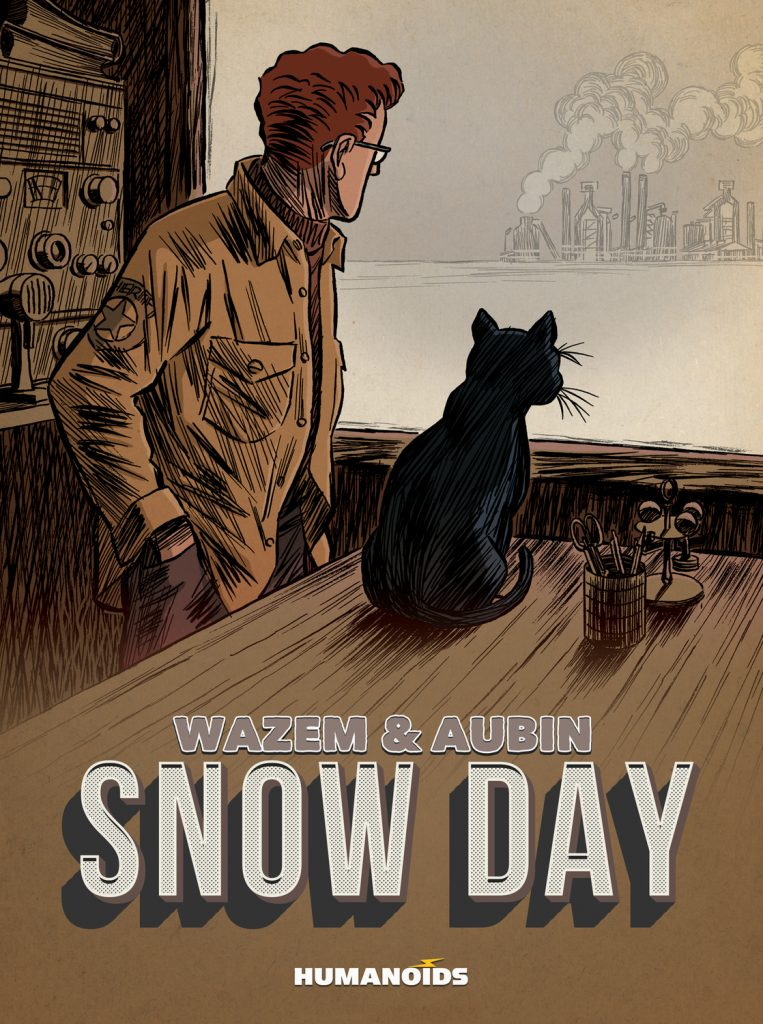 Cover to 'Snow Day'. Art by Antoine Aubin