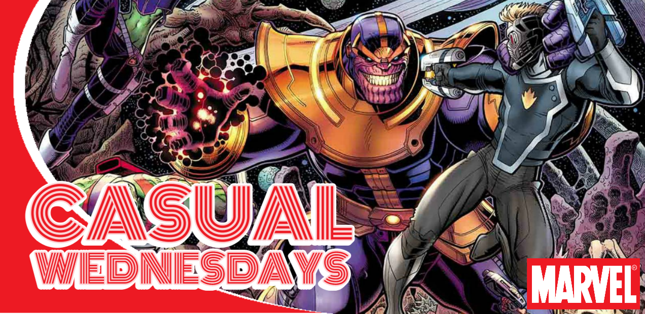Marvel Mayhem — CASUAL WEDNESDAYS WITH DOOMROCKET