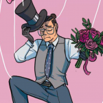 Preview: Sauerkraut is really futzing with Ed's perspective in 'Giant Days' #26