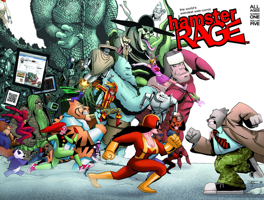 'Hamster Rage' is available on comiXology