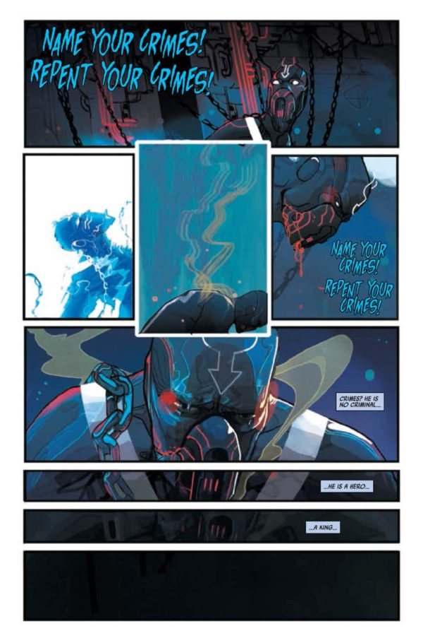 'Black Bolt' #1 is out now from Marvel Comics