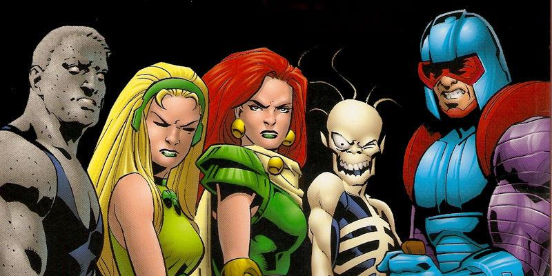 The Superman Revenge Squad grace the cover to 'The Adventures of Superman' #543. Art by Stuart Immonen/DC Comics