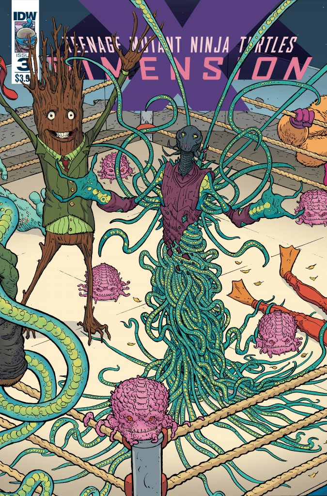 'TMNT: Dimension X' #3 is previewed exclusively at DoomRocket.com