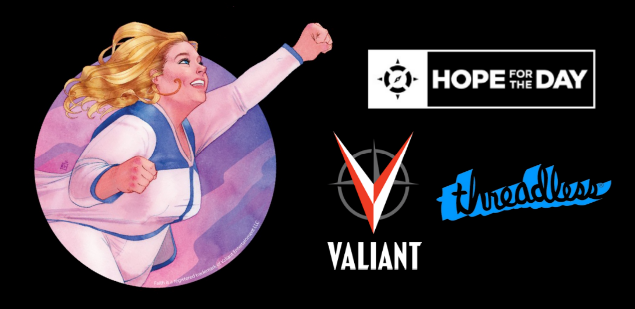 Valiant teams up with Threadless for Mental Health Awareness Month