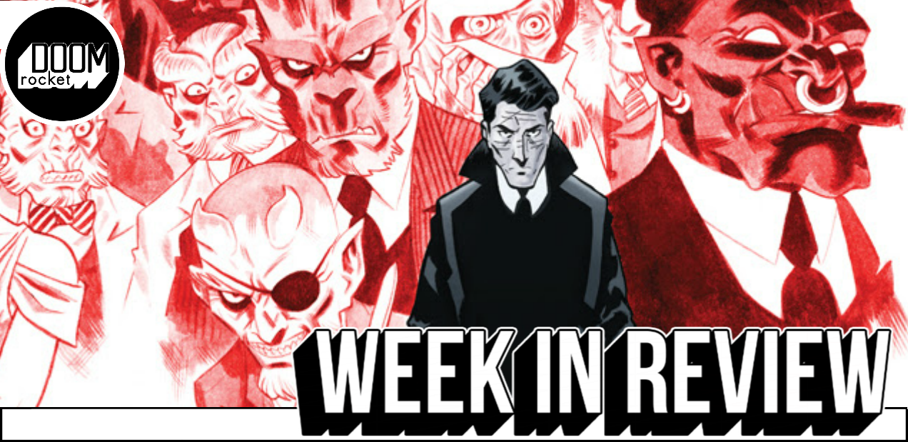 For a mere dollar Oni Press' crafty thriller 'The Damned' can (and should) be yours