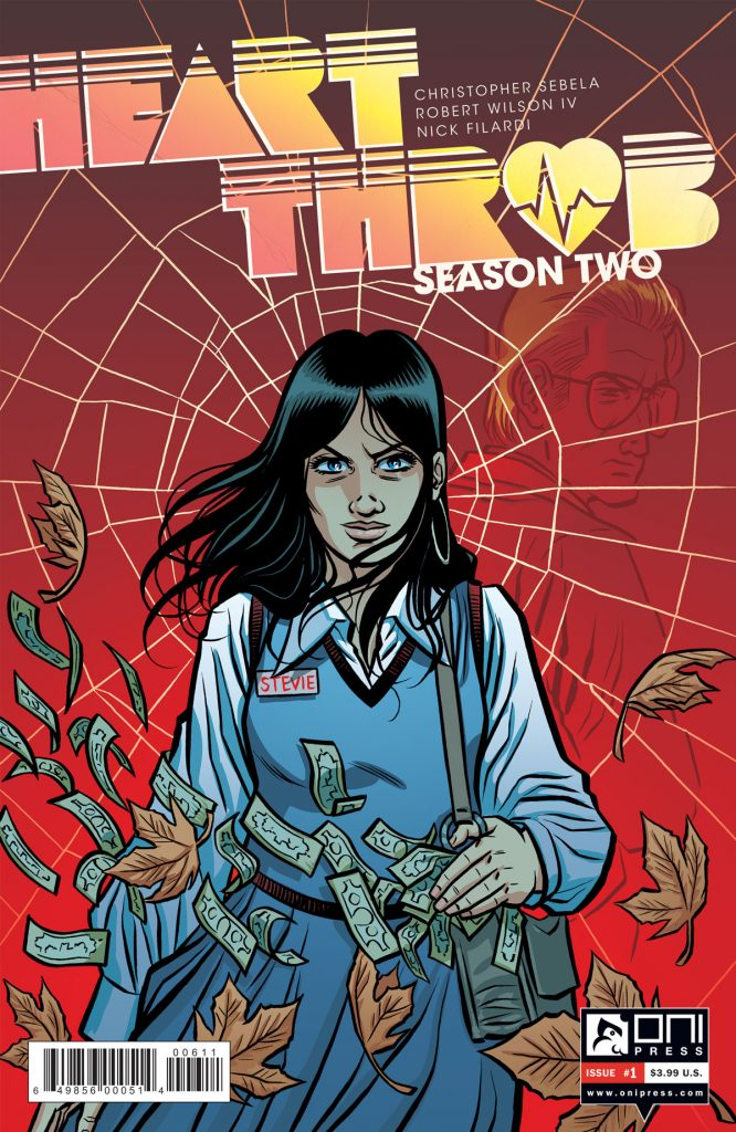 The second season of 'Heartthrob' begins June 21 from Oni Press