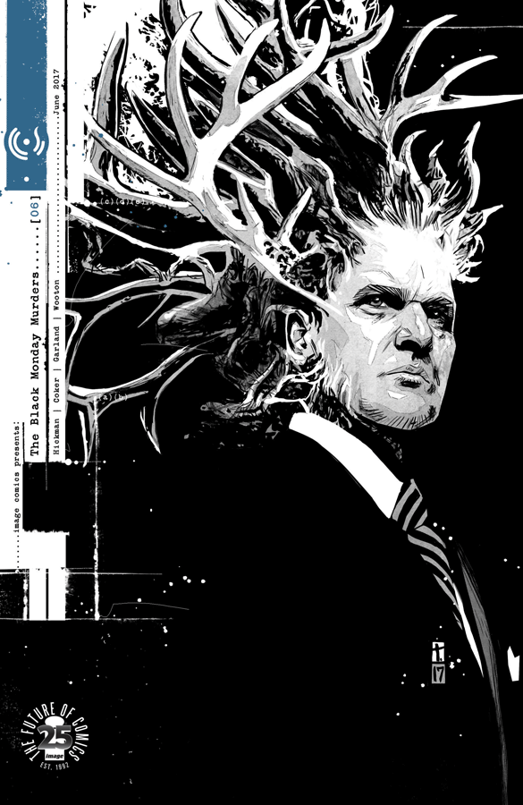 Cover to 'The Black Monday Murders' #6. Art by Tomm Coker/Image Comics