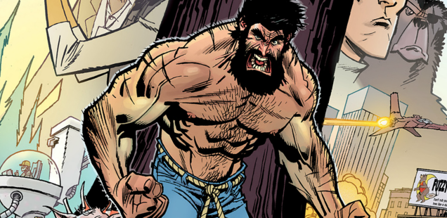 'Shirtless Bear-Fighter!' is outright insanity and we love every glorious inch of it