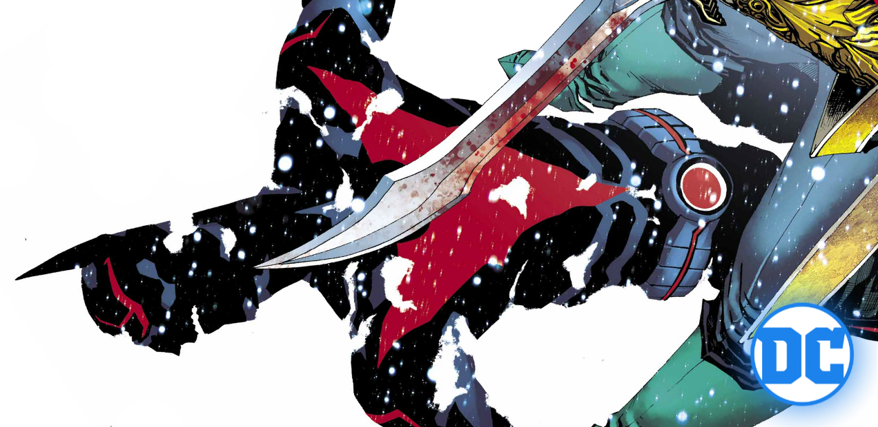Terry gets tuned up by Damian Wayne in this exclusive first look at 'Batman Beyond' #9