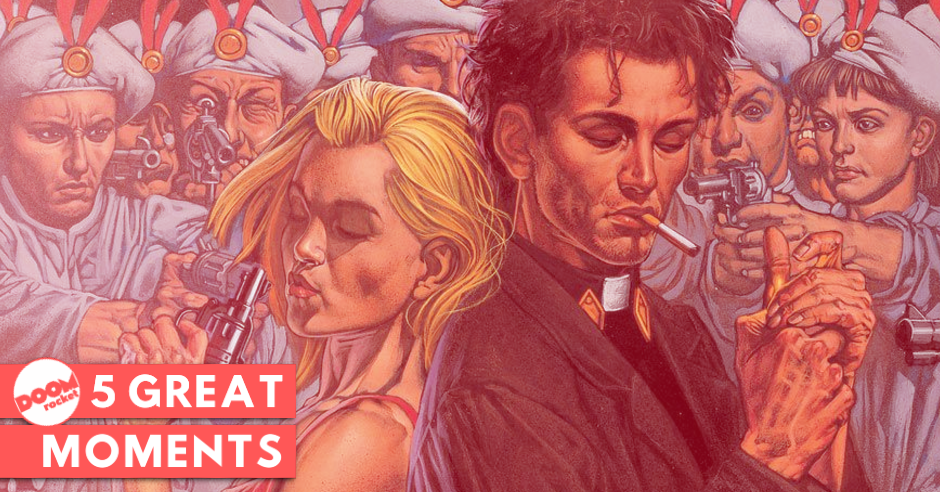 """Until the end of the world"": The 5 greatest moments in Ennis & Dillon's 'Preacher'"