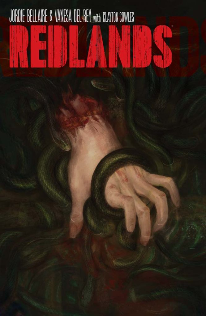 Cover to 'Redlands' #1. Art by Vanesa Del Rey/Image Comics